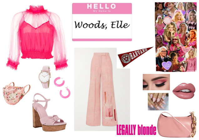 Elle Woods // Inspired by 'Legally Blonde'