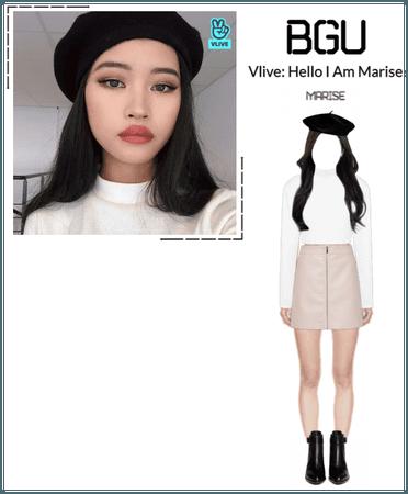 BGU Vlive: Hello I Am Marise