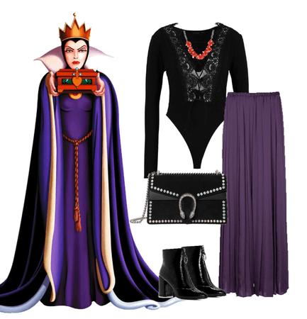 evil queen Disney Bounding