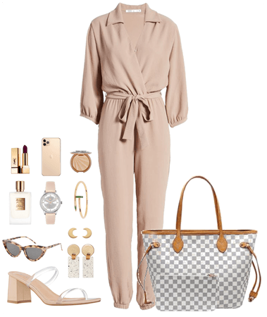 Dressy 2 Neutral Date Night Outfit
