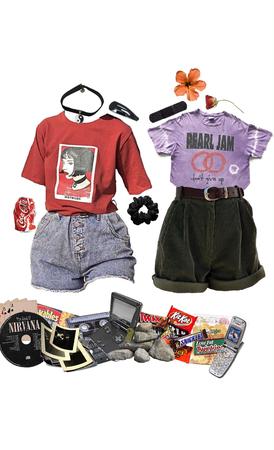 Best 90s grunge friends at summer camp