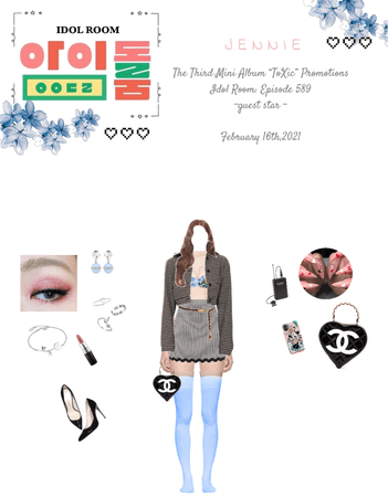 "Lee Jennie || The Third Mini Album ""ToXic"" Promotions : Idol Room {02.16.2021}"
