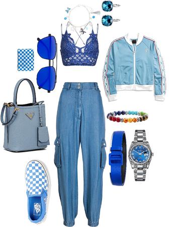 monochrome Blue 1