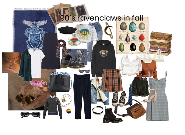 90´s ravenclaws in fall