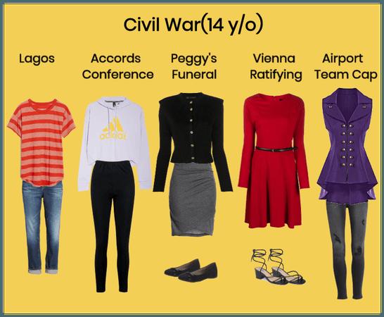 Violet Maximoff Outfits - Civil War