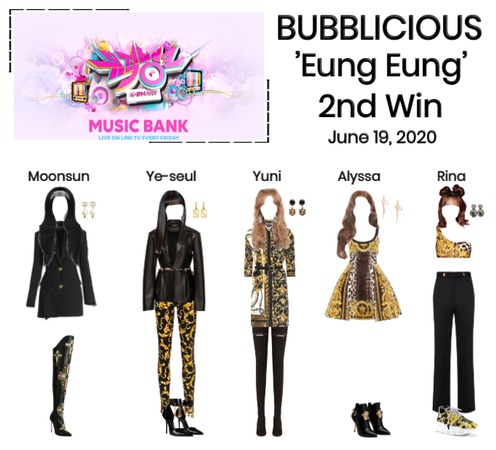 "BUBBLICIOUS (신기한) ""Eung Eung"" 2nd Win"