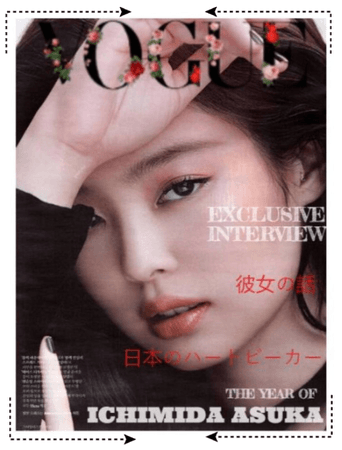 5ROSES 5 장미 Angèle for VOUGE Magazine