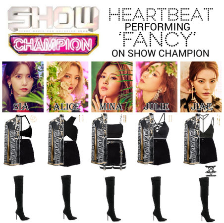 [HEARTBEAT] SHOW CHAMPION STAGE | 'FANCY'