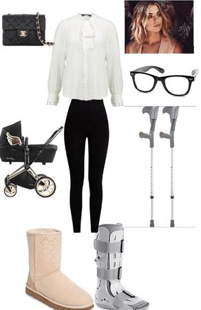 ugg brokenfoot/stroller style