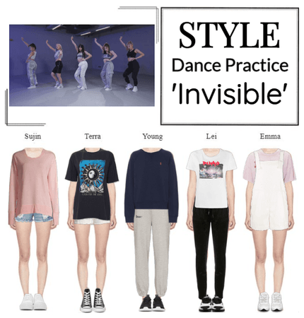 STYLE 'Invisible' Dance Practice