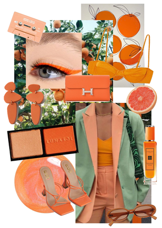 hot girl summer but make it orange