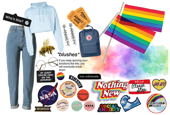 pride month aesthetic