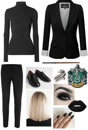 gender bent Draco Malfoy