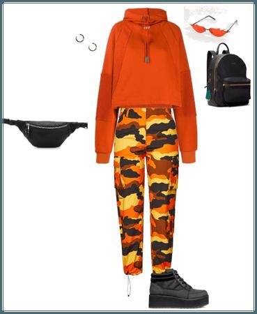 orange & black craze