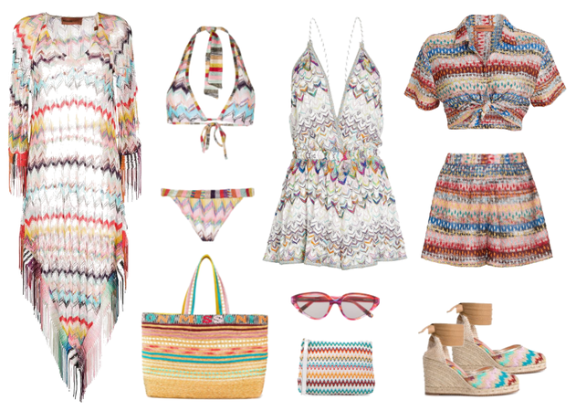Missoni Vacation Capsule Wardrobe