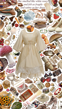 Cottage Core Outfit!🍡🌾👒