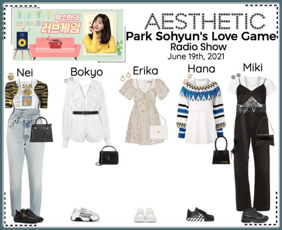 AESTHETIC (미적) [RADIO] Park Sohyun's Love Game