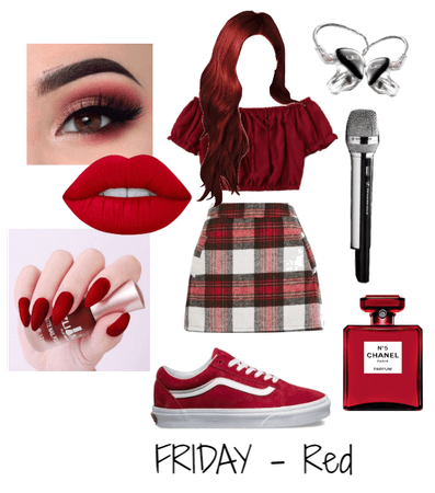 IN YOUR AREA(Monochromatic outfit - RED prt1)