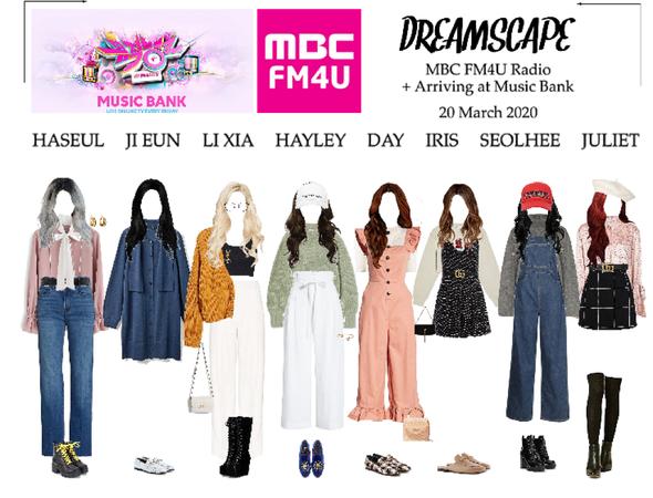 DREAMSCAPE [드림스게이프] MBC FM4U Radio + Music Bank 200320