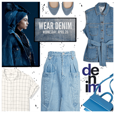 Wear Denim, Weds 4/29