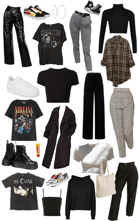 moodboard what I actually wear