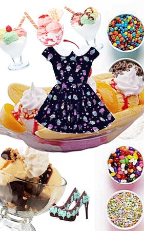 ice cream sundaes~