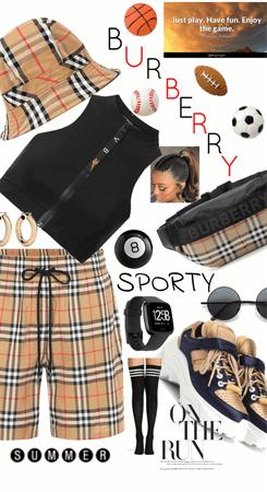 Burberry Sport - Tartan Style