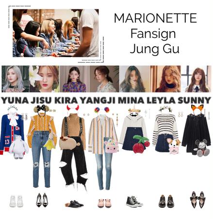 MARIONETTE (마리오네트) Jang Gu Fansign