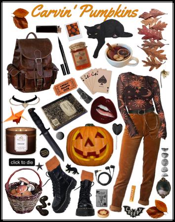 carvin' pumpkins