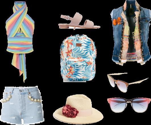 Festival/Coachella outfit.