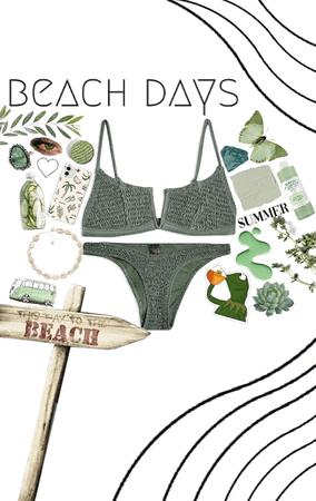 beach day:)🦖