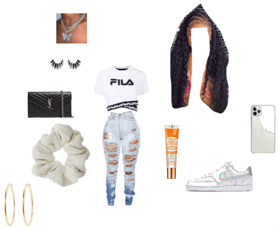 hood girl outfit