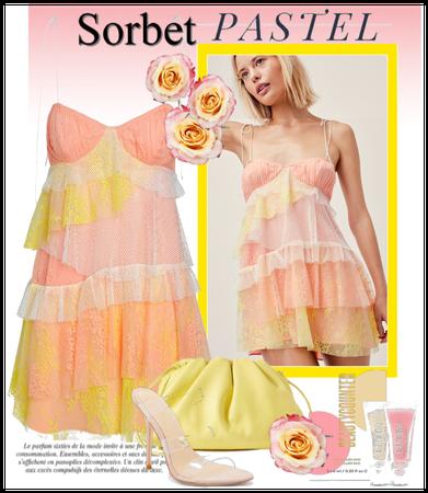sorbet pastel tones
