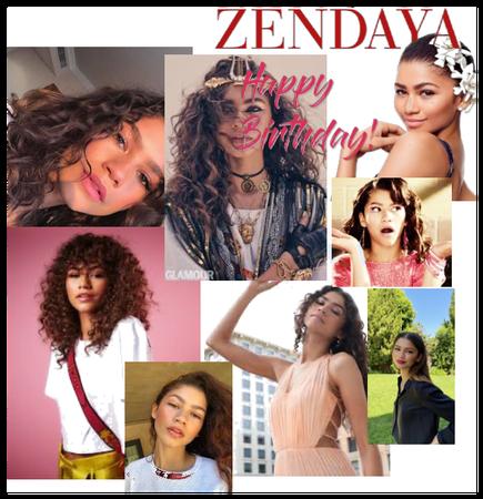 Zendaya's birthday