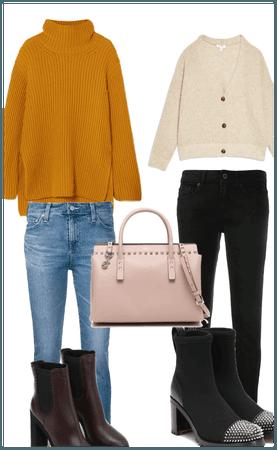 Autumn winter season shopping day