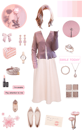 Mute pastels: pink