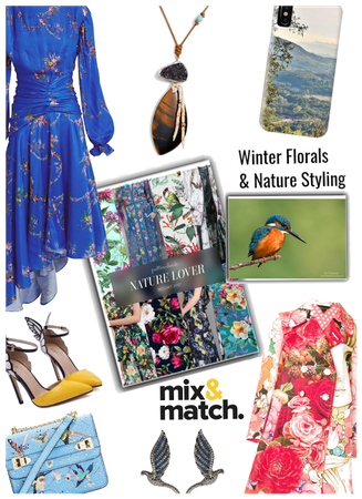Winter florals & Nature Styling