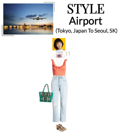[STYLE] Emma At The Airport (Heading To Seoul)