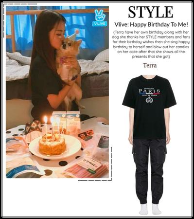 STYLE Vlive: Happy Birthday To Me!