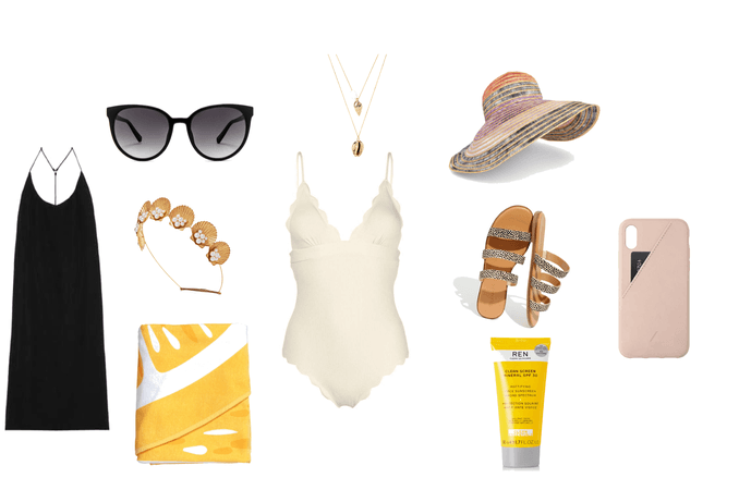 beach day fit