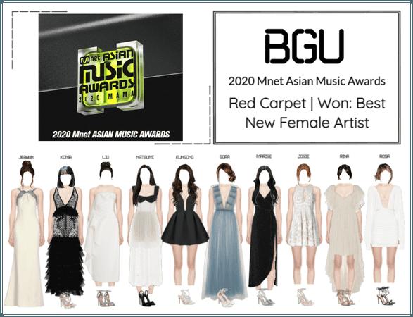 BGU 2020 Mnet Asian Music Awards Red Carpet