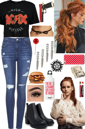 Cheryl Blossom Inspired Hunter Outfit