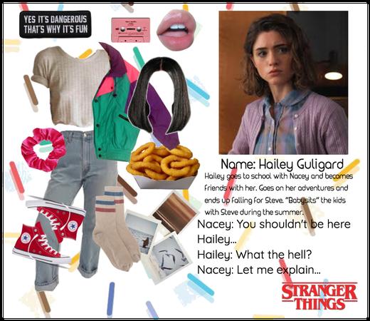 Hailey Guligard - Stranger Things OC