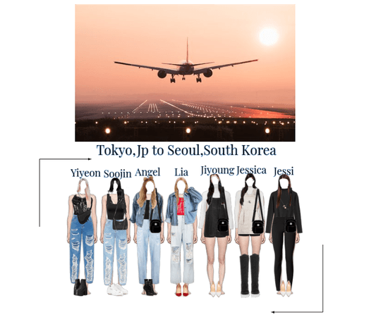 Harmony Airport Outfits