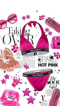 Pink Bikini!