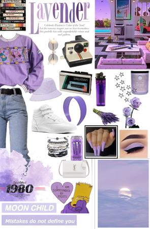 Rockin' 80s lavender
