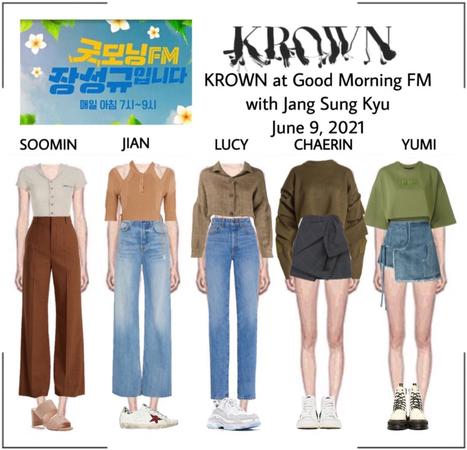 210609 Good Morning FM - Jang Sung Kyu with KROWN (Radio Show)