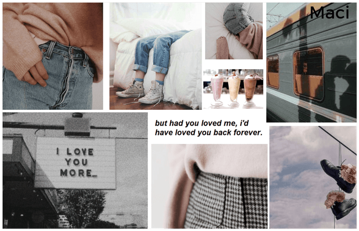 Name Aesthetic Board: Maci