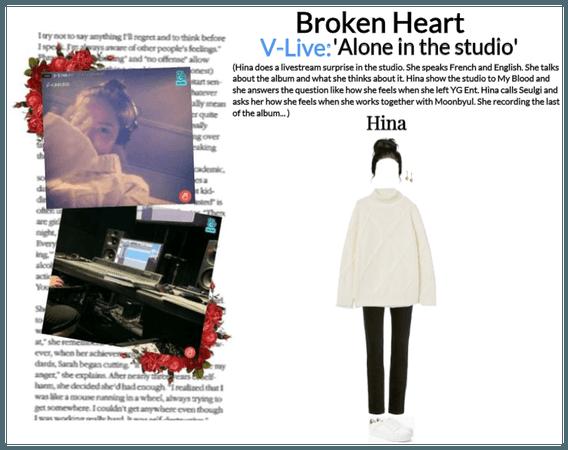 Broken Heart V-Livestream