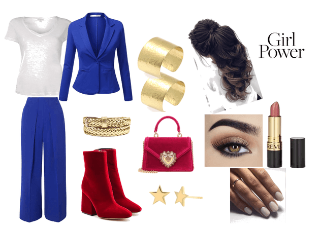 Diana Prince/ Wonder Woman look